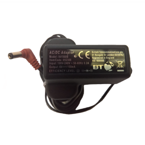 BT Cordless Phone Power Supply Item Code 052300